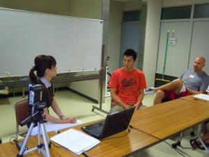 【活動報告】bjリーグ・千葉ジェッツさんでメディア・トレーニングを行いました