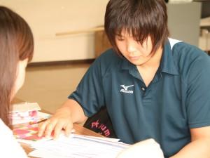 【活動報告】ロンドン五輪柔道代表・緒方亜香里選手(筑波大)のメディア・トレーニングを行いました