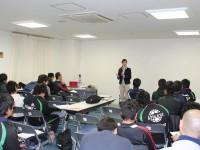 神戸ウィングスタジアム サッカー指導者研修会