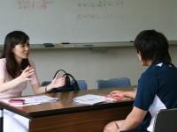 ロンドン五輪柔道日本代表・緒方亜香里選手のメディア・トレーニングを行いました。