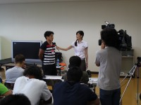 日光アイスバックスでメディア・トレーニング&ソーシャルメディアセミナー