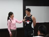 【活動報告】リコー・ブラックラムズ メディア・トレーニング(第1グループ)