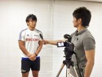 【活動報告】リコーブラックラムズ リーダー研修(メディア・トレーニング)